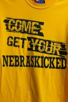 Iowa Hawkeye T-Shirt.perfect for my nebraska rival friends! Iowa Hawkeye Football, Iowa Hawkeyes, Nebraska Cornhuskers, Home Team, Sports Humor, My Style, T Shirt, Nebraska Game, Cricut