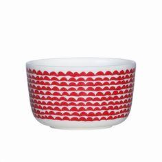 Marimekko Papajo Red Dessert Bowl