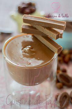 Gianduja maison Le Gianduja est une préparation composée de pâte de noisette additionnée à du chocolat .