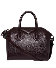Givenchy purple leather Antigona tote is a versatile, slick accessory that will complement your city wardrobe. Liberty.co.uk