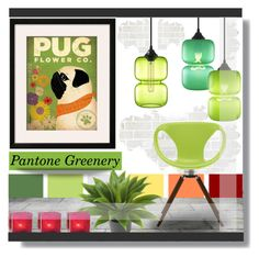 """""""Pantone: Greenery Decor."""" by farmgirl2015 ❤ liked on Polyvore featuring interior, interiors, interior design, home, home decor, interior decorating, Tonon, Nearly Natural and Cultural Intrigue"""