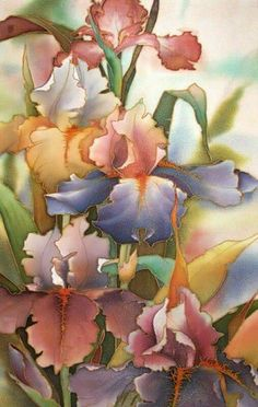 Silk painting magnolia soulangeana silk pinterest magnolia silk painting mightylinksfo