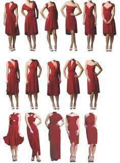What to do with my new dress. Oh the possibilities!!
