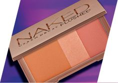 Make them blush. Urban Decay's new NAKED Flushed palette touts a bronzer, highlighter and rose blush for a radiant glow.
