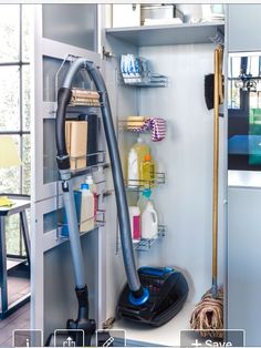 Best Cleaning supply us storage in the laundry room