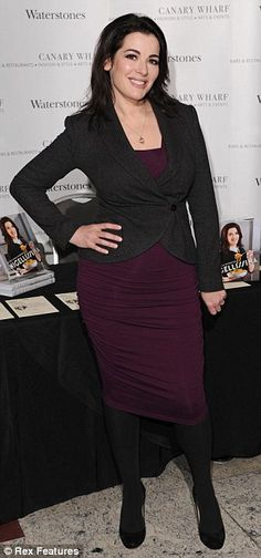 Best seller: Nigella caused quite a storm as she signed books for her fans and continued her UK tour