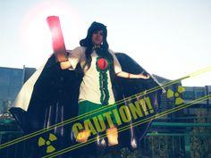 Hayley Dobbin: Utsuho 'Okuu' Reiuji from The Touhou Project in Otaku House Cosplay Idol 2012