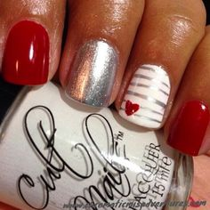 We found 114 of the very Best Valentine's Day Nails! If you love Valentine's Day and Nail Polish, this is for you!
