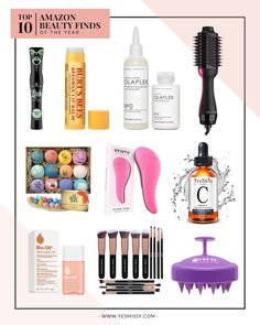 Top 10 Beauty Products on Amazon all under $50 Diy Beauty, Beauty Skin, Beauty Hacks, Beauty Tips, Olaplex Hair Treatment, Bio Oil Uses, Beeswax Lip Balm, Amazon Beauty Products, Best Mascara