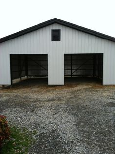 30x30x10 Garage www.nationalbarn.com