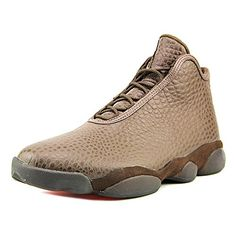 more photos 4885e 067b6 Jordan Horizon Premium Men Round Toe Leather Brown Sneakers 105 DM US Brq  BrownMtllc Gldinfrrd 23   Check out this great product.