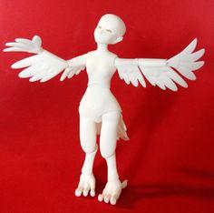 Phoenixling Littling BJD by Silverbeam on Etsy, $75.00