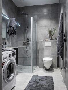latest bathroom decor ideas that match with your home design 13 Bad Inspiration, Bathroom Inspiration, Bathroom Design Luxury, Contemporary Bathrooms, Contemporary Decor, Small Bathroom, Bathroom Ideas, Bathroom Modern, Home