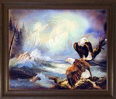 Native American Ghost Warriors and Eagle Brown Rust Frame... https://www.amazon.com/dp/B00IVIESBA/ref=cm_sw_r_pi_dp_x_qagczb2CQG1MC