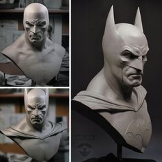 Concept Modeling For Easy Clay Sculptures: – Picture : – Description -Read More – - Easy Clay Sculptures, Sculpture Clay, Marvel Dc, Comic Character, Character Design, Statues, Joker Art, Modelos 3d, Cool Animations
