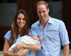 Kate, William and George.