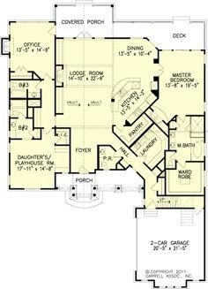 2,637 sq ft, Nice floor plan