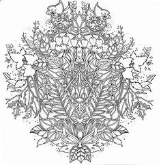 Colorear Mandalas Dibujos Flores Coloracion Adulta Libro Para Johanna Basford Estres Ornamento