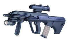 steyr aug tactical light and scope