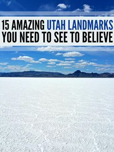 15 amazing Utah landmarks you need to see to believe!