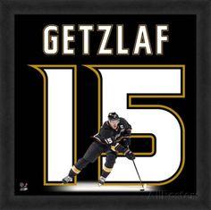 Ryan Getzlaf, Ducks representation of the player's jersey Framed Memorabilia at AllPosters.com