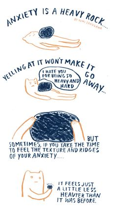 """""""Anxiety Is A Heavy Rock"""" 2011"""