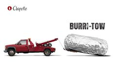 Chipotle by Cinder MFG --  Chipotle advertising, burri-tow