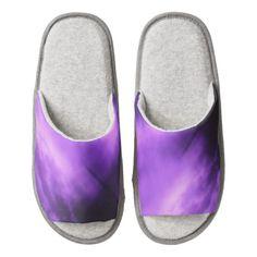 Purple Skies Slippers