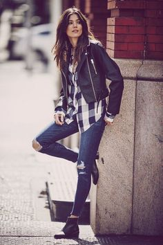 Teal Shirt, Checkered Shirt Outfit, Look Fashion, Winter Fashion, Fashion Outfits, Womens Fashion, Abercrombie And Fitch Looks, Abercrombie Men, Looks Style