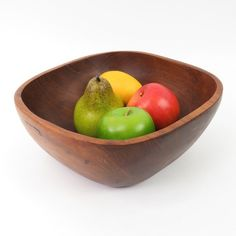 Antiques Bowls Popular Brand Vintage 1970s Mid Century Modern Design Teak Wood Pan Goodwood Thailand