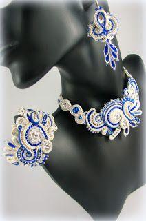 soutache jewelry set montownia monity