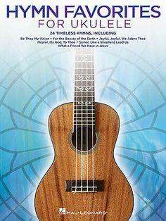 Hymn Favorites for Ukulele Easy Chords & Lyrics 24 Christian Songs Uke Book NEW