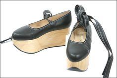 Vivienne Westwood. Rocking-horse shoes <3