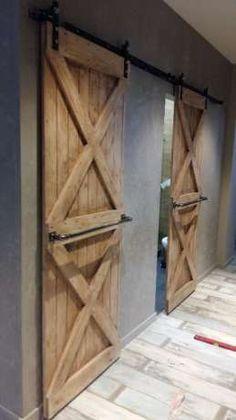 Амбарные и межкомнатные двери из массива дерева в лофт стиле loft Одесса - изображение 1