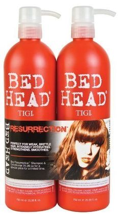 The Best Deal For You! TIGI Bed Head Resurrection Shampoo/Conditioner (25.36oz) Set Body Care / Beauty Care / Bodycare / BeautyCare
