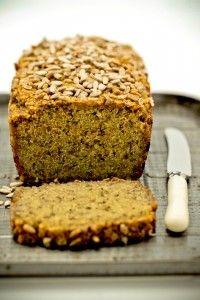 gluten free Quinoa + Chia Bread