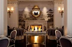 Plume Restaurant at The Jefferson Hotel; You must try the Beeswax Poached King Salmon-prepared at your table!