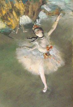 Degas- I saw this at traveling exhibit once.