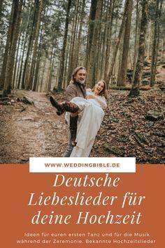 Ihr sucht noch nach einem Lied für die Hochzeit? Wir haben einige Liebeslieder auf Deutsch für euch und eure Zeremonie herausgesucht, die perfekte Hochzetissongs darstellen und dann noch in der Muttersprache der Braut und des Bräutigams. Das kann sehr emotional während dem Heiraten werden. Heute am Hochzeitsblog weddingbible dreht sich deshalb alles um das perfekte Hochzeitslied auf Deutsch.