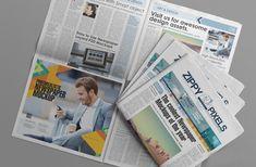 Free PSD Newspaper Advertisement Mockup