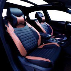 Leather car seat cover For BMW Audi Volkswagen Suzuki Kia Mazda Mitsubishi Subaru Honda Audi Nissan Hyundai accessories styling #Affiliate