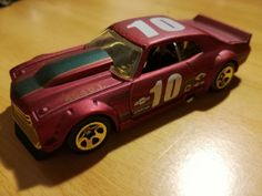 Uno de mis Hot Wheels favoritos. Chevelle 1970.