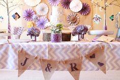 A Lavender Wedding Shower