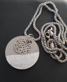 Washer Necklace, Silver, Jewelry, Jewlery, Money, Jewels, Jewerly, Jewelery, Accessories