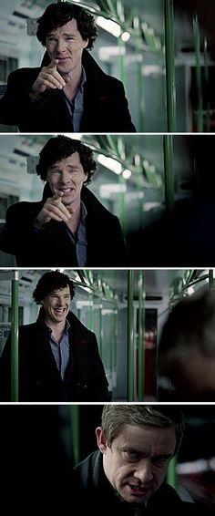 John and #Sherlock series 3 episode 1: The Empty Hearse