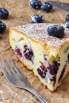 This Homemade Blueberry Cake is our family's favorite recipe. It's quick to whip up, it's soft and light and perfect with a cup of your favorite tea or coffee. Grandmother's recipe that is always a hit. Blueberry Desserts, Blueberry Cake, Food Cakes, Fruit Cakes, Easy Cake Recipes, Dessert Recipes, Cupcakes, Cupcake Cakes, Bowl Cake