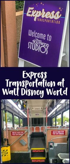 Express transportation at Walt Disney World - how it works, how much it costs, and if express transportation is worth it.