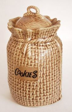 How To Decorate A Cookie Jar Vintage Tilso Ceramic Cookie Jar  Kitchen  Pinterest  Ceramic