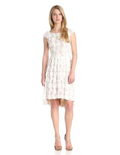 -$159.--Hailey by Adrianna Papell Women's Soutahce Cap Sleeve Lace Dress, White/Nude, 14 Hailey by Adrianna Papell,http://www.amazon.com/dp/B00GBZJPIQ/ref=cm_sw_r_pi_dp_cqw6sb1TJSWJBAEB
