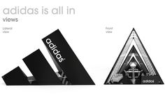 adidas stand by Scarpia , via Behance